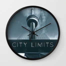 City Limits Wall Clock