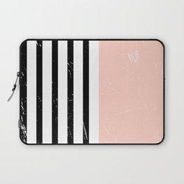 Minimalism Pattern   Blush   Millennial Pink   Modern   Geometric Laptop Sleeve