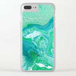 _ F L O W Clear iPhone Case