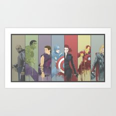 Team Awesome Art Print