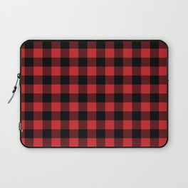 Buffalo Plaid Rustic Lumberjack Buffalo Check Pattern Laptop Sleeve