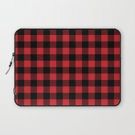 Buffalo Plaid Rustic Lumberjack Buffalo Check Pattern Laptop Sleeve
