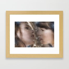 Think I Love You Framed Art Print