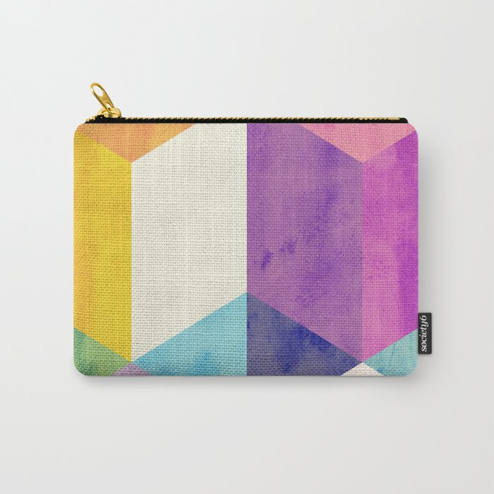 RubyTres Textured Carry-All Pouch
