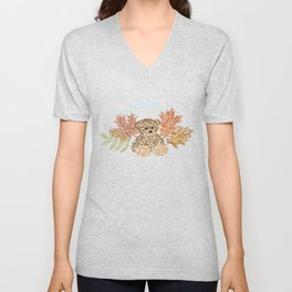 Autumn Bear Unisex V-Neck