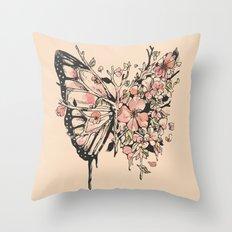 Metamorphora Throw Pillow