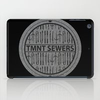 tmnt iPad Cases featuring TMNT SEWERS by Resistance
