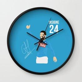 Insigne - Napoli Wall Clock