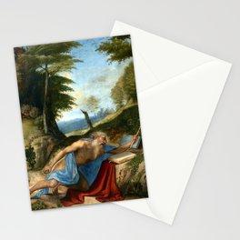 Lorenzo Lotto Saint Jerome Penitent Stationery Cards
