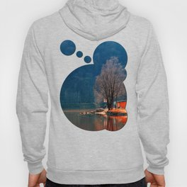 Gone fishing | waterscape photography Hoody