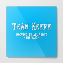 Team Keefe Metal Print