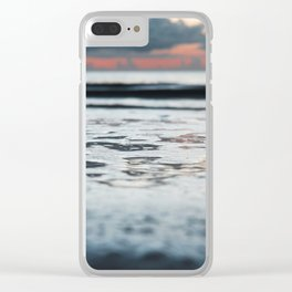 Pink Sunsets Clear iPhone Case