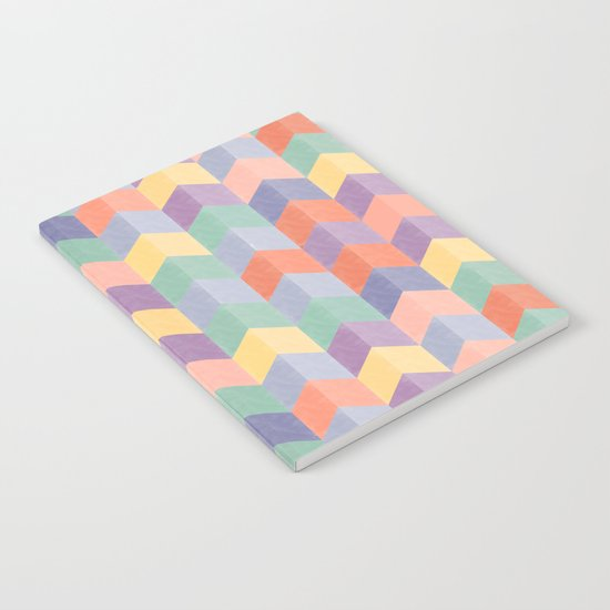 Colorful geometric blocks Notebook