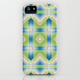 Abstract, geometric, creative, background fashionable iPhone Case