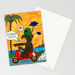 School's Out Stationery Cards