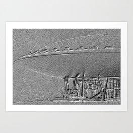 Evoluon Art Print