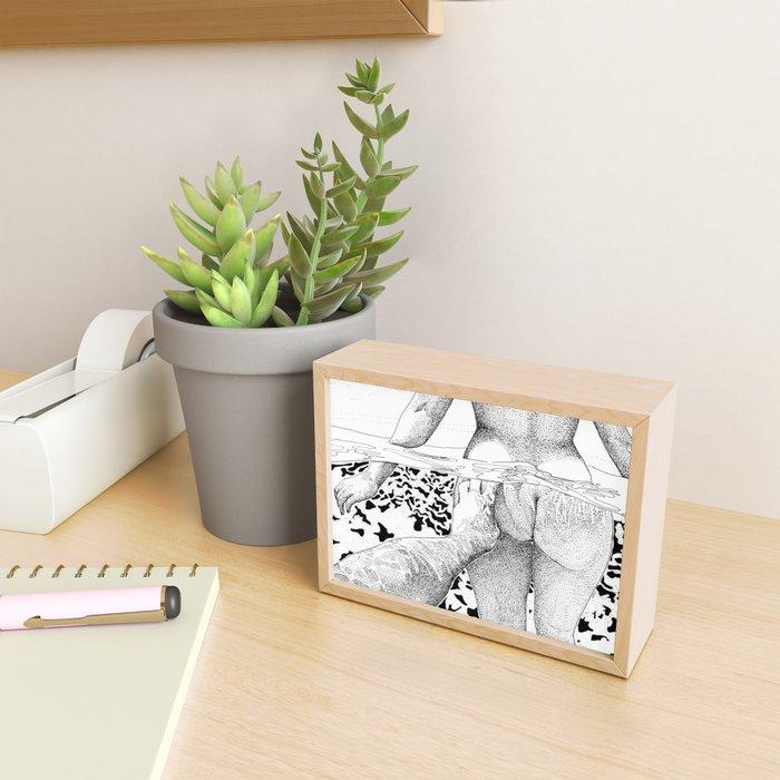 The Swim Framed Mini Art Print