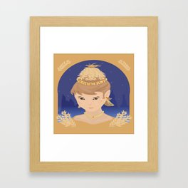 Harvest Queen Framed Art Print
