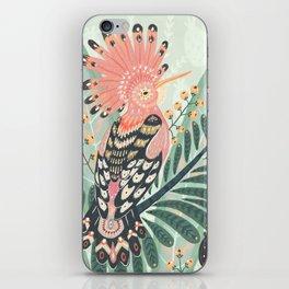 Hoopoe Bird iPhone Skin