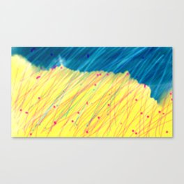 Manorbier Rain Canvas Print