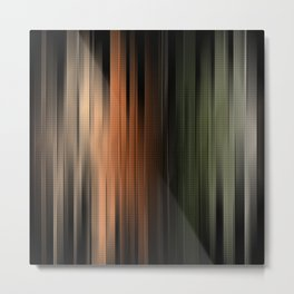 Hues of Autumn Abstract Metal Print