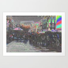It has been being built so they have been arrived. Art Print