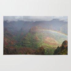 Waimea Canyon Rainbow Rug