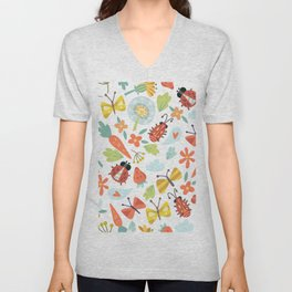 Kids Insects Unisex V-Neck