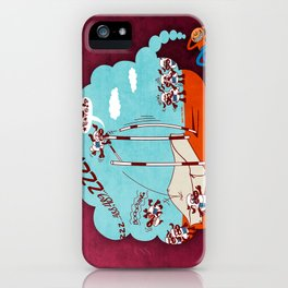 Chronic Insomnia iPhone Case