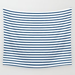 Sailor Stripes Navy & White Wall Tapestry