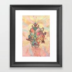 The Fountain of Originality Framed Art Print