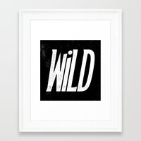 into the wild Framed Art Prints featuring Wild by Josh LaFayette