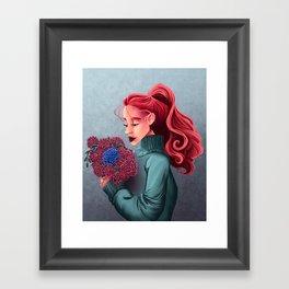 Chrysanthemums Framed Art Print