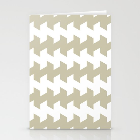 jaggered and staggered in tidal foam Stationery Cards