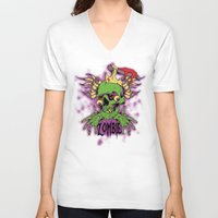 dramatical murder V-neck T-shirts featuring Murder by Tshirt-Factory