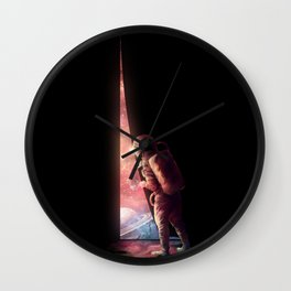 The Opening Wall Clock