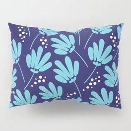 Blue Flower pattern Pillow Sham