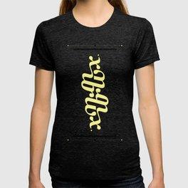 Type Foundry - Georgia Bold Italic T-shirt