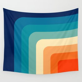 80s Vintage pattern Wall Tapestry