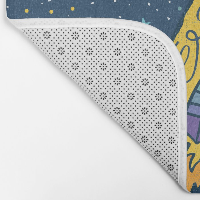 YOU ARE OUT OF THIS WORLD Bath Mat