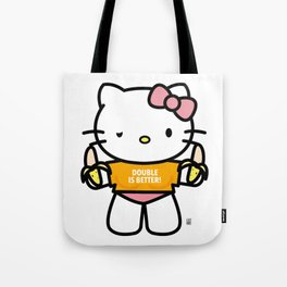Hello Hoe - Double is better! Tote Bag