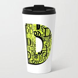 Letter D Travel Mug