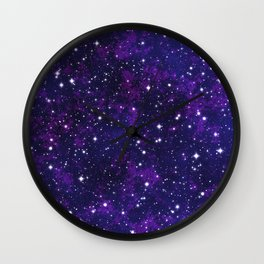 winter galactic Wall Clock