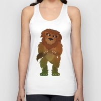 oz Tank Tops featuring OZ - Lion by Drybom