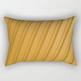 Stripes II - Golden Rectangular Pillow