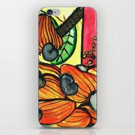 Cashew Apple Painting iPhone Skin