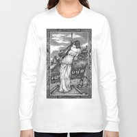witch Long Sleeve T-shirts featuring Witch by Laura-A