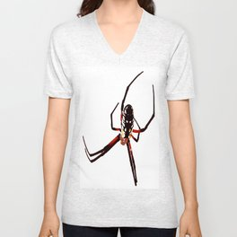 spider from mars Unisex V-Neck