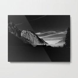 die Alpen II Metal Print