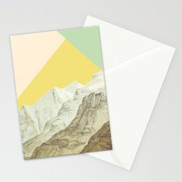 Modern Mountains No. 1 Stationery Cards